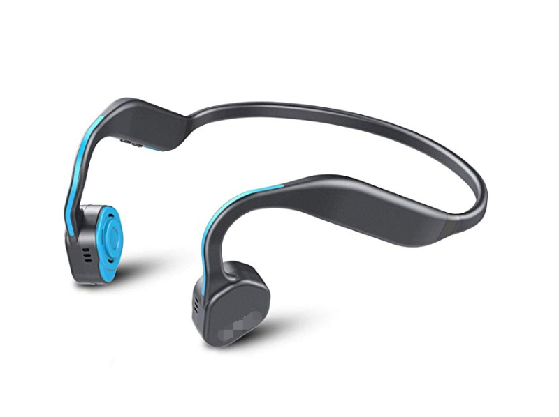 Bone Conduction Headphones, releases ears to hear surrounding sound, makes running, cycling and other outdoor sports safer.